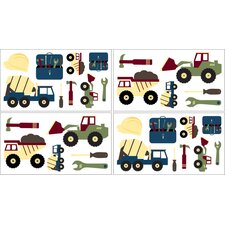 Construction Zone Wall Decal