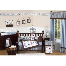 Starry Night 9 Piece Crib Bedding Set