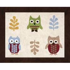 Night Owl Collection Floor Area Rug