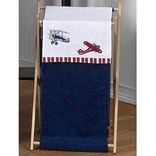 Vintage Aviator Laundry Hamper