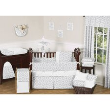 Diamond 9 Piece Crib Bedding Set