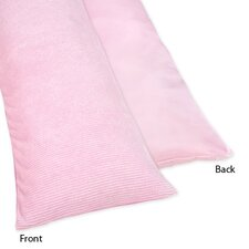 Chenille Pink Body Pillowcase