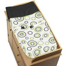 Spirodot Lime and Black Collection Changing Pad Cover