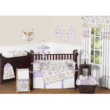 Suzanna 9 Piece Crib Bedding Set
