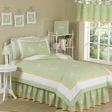 Green Dragonfly Dreams Kid Twin Bedding Collection