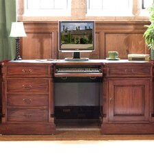 La Roque Executive Desk with Keyboard Tray