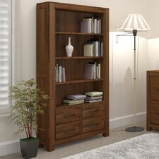 Mayan Walnut Tall Wide 180cm Barrister Bookcase