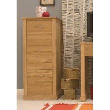 Mobel 3-Drawer Vertical Filing Cabinet