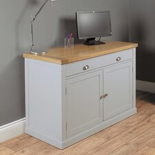 Chadwick Credenza Desk with Keyboard Tray