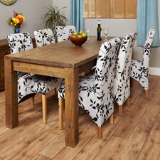 Heyford Rough Sawn Extendable Dining Table