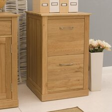 Mobel 2-Drawer Vertical Filing Cabinet