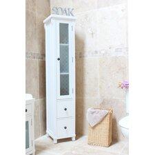 Hampton 39 x 180cm Free Standing Tall Bathroom Cabinet