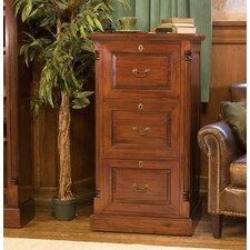 La Roque 3-Drawer Vertical Filing Cabinet