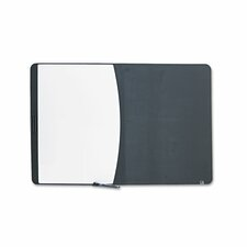 Tack and Write Combo Wall Mounted Combination Whiteboard, 2' H x 3' W