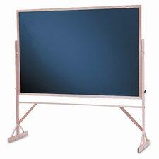Reversible Magnetic Chalkboard, 4' H x 6' W