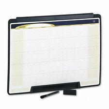 Motion Portable Monthly Calendar Wall Mounted Whiteboard, 2' H x 2' W