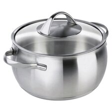 Daily Stainless Steel Round Casserole