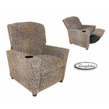 Cheetah Kids Cotton Recliner with Cup Holder