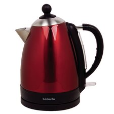 Manhattan 1.7L Automatic Shutoff Kettle in Red