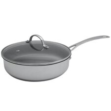 Aspire Induction Compatible Non-Stick Saute Pan with Lid