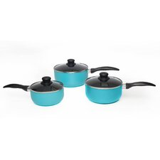 3-Piece Non-Stick Saucepan Set