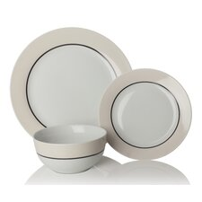 Oslo 12 Piece Dinnerware Set (Set of 4)