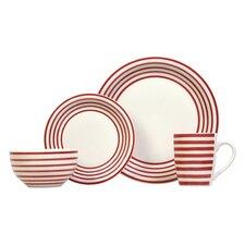 Carnaby 16 Piece Stoneware Dinnerware Set