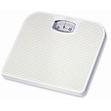 White Mechanical Bathroom Scales
