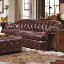 Kennedy Chesterfield Leather Sofa