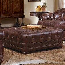 Kennedy Leather Storage Ottoman