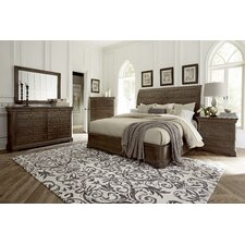 St. Germain Sleigh Customizable Bedroom Set