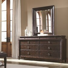 Classics 9 Drawer Dresser with Mirror