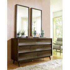 Epicenters 7 Drawer Dresser with Mirror