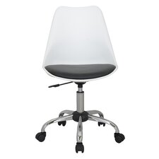 Medium-Back Adjustable Swivel Office Chair