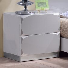 Dublin 2 Drawer Nightstand