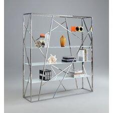 """70.87"""" Accent Shelves Bookcase"""