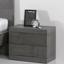Sydney 2 Drawer Nightstand