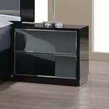 Venice 2 Drawer Nightstand