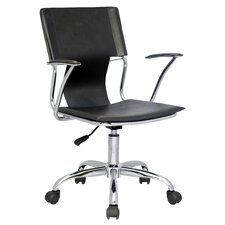 Mid Back Office Chair with Swivel