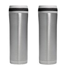 15 oz. Travel Mug with Band (Set of 2)
