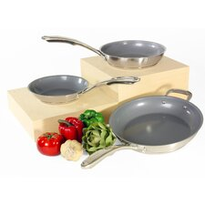 Induction 21 Steel 3 Piece Cookware Set