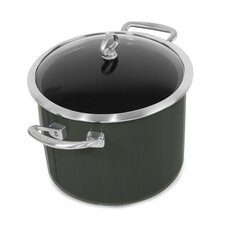 Copper Fusion 8-qt. Stock Pot with Lid