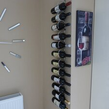 Pisa 6 Bottle Wall Mount Wine Rack