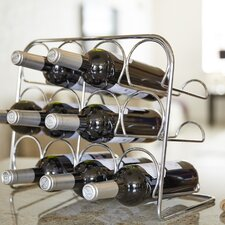 Pisa 12 Bottle Tabletop Wine Rack