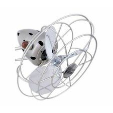 Atlas Aluminum Fan Head with Decorative Cage
