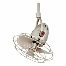 "16"" Diane Oscillating 3 Metal Blade Ceiling Fan with Remote"