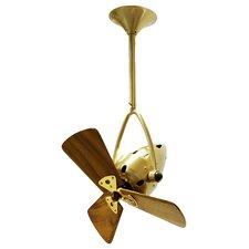 """16"""" Jarold 3 Wooden Blade Ceiling Fan"""