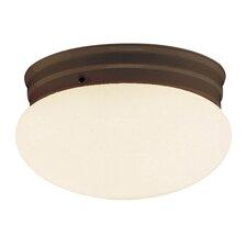 Mushroom 1 Light Flush Mount