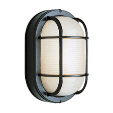 1 Light Outdoor Bulkhead Light