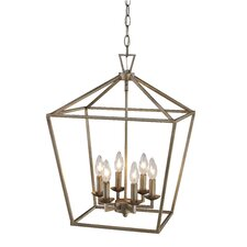 Lacey 6 Light Foyer Pendant